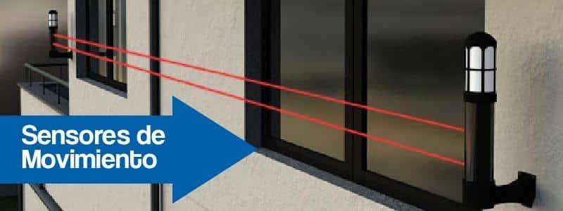 Sensores de Movimiento de exterior en las ventanas