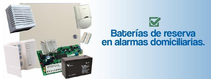 baterías de reserva