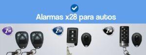 Alarmas x28 para autos