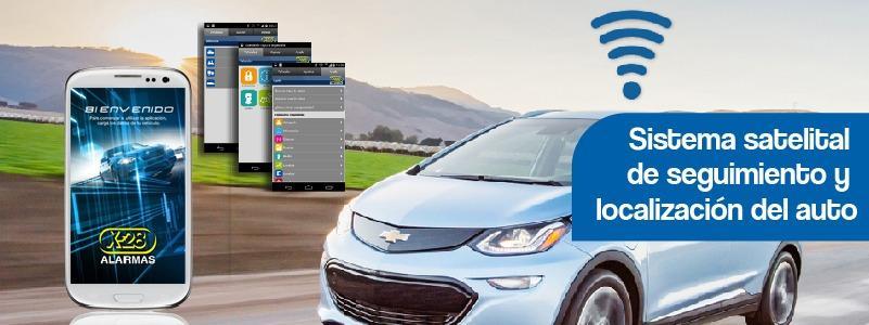 Alarmas x28 para autos: Sistema satelital de seguimiento y localización del auto