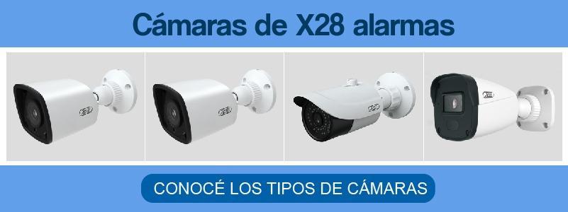 Cámaras de X28 alarmas