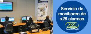 Servicio de monitoreo de x28 alarmas