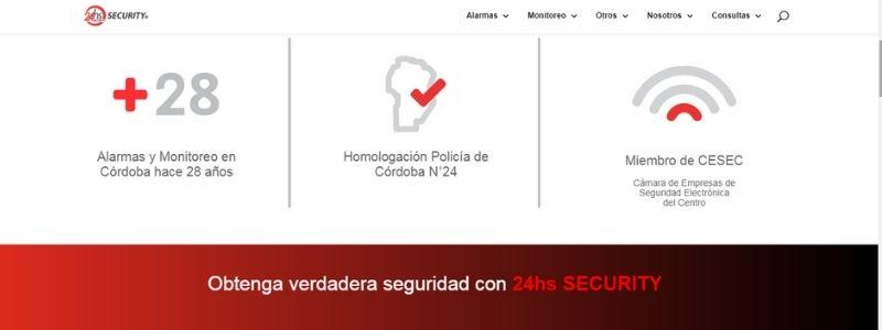 24HS Security alarmas domiciliarias