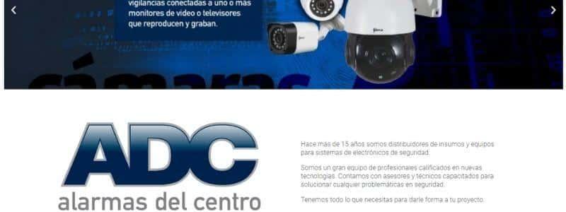 ADC Alarmas del Centro alarmas domiciliarias
