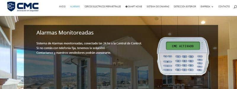 CMC Alarmas domiciliarias
