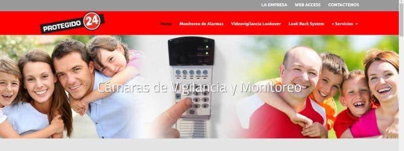 Protegido24 alarmas domiciliarias