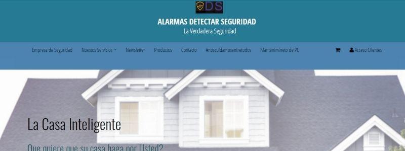 alarmas detectar seguridad domiciliarias