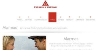 barrios y barrios alarmas domiciliarias