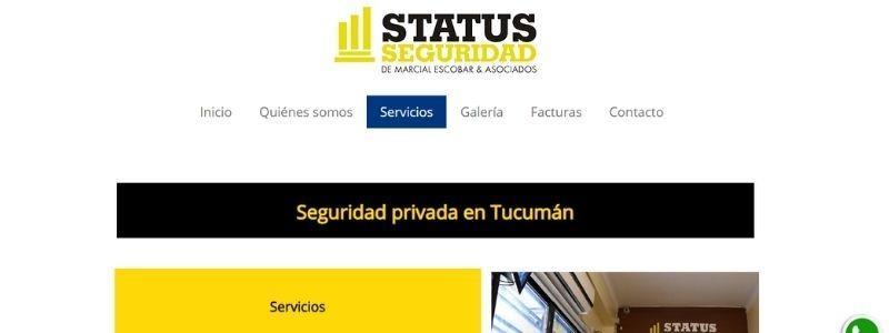 seguridad status alarmas domiciliarias